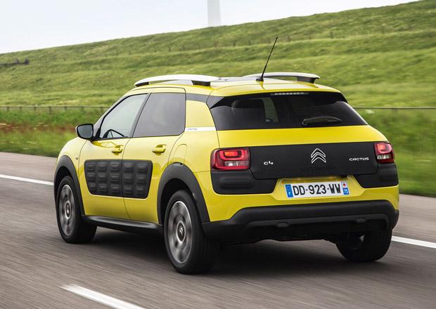Citroën C4 Cactus zlevnil, s motorem 1.2 PureTech 82 stojí od 299.900 Kč