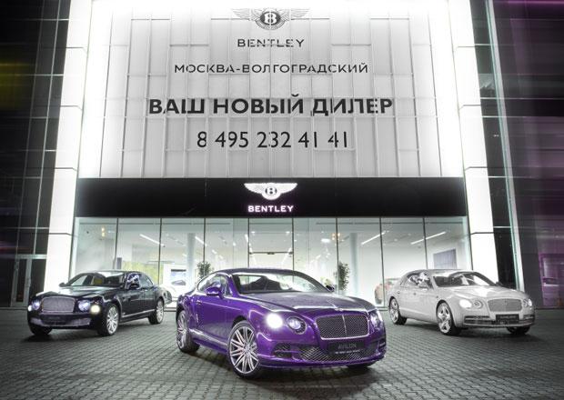 Bentley rozšiřuje distribuční síť v Rusku