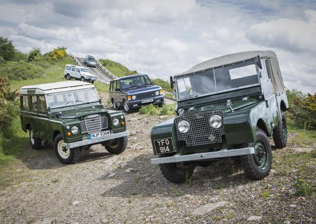 Land Rover nabízí svezení s klasiky i současnými modely (+video)