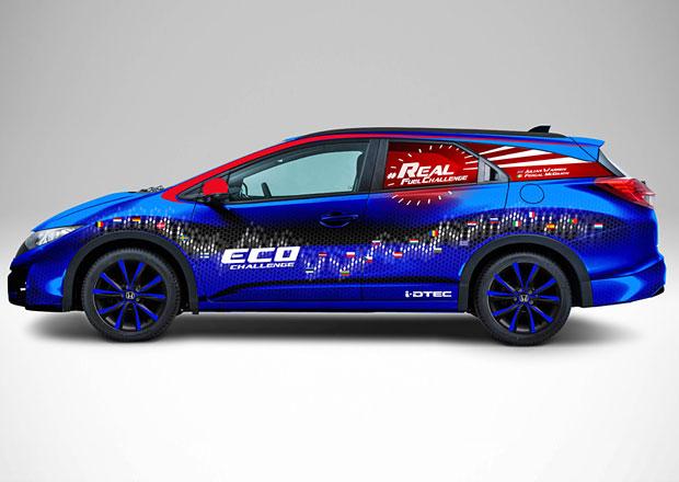 Naftová Honda Civic chce do guinnessovky