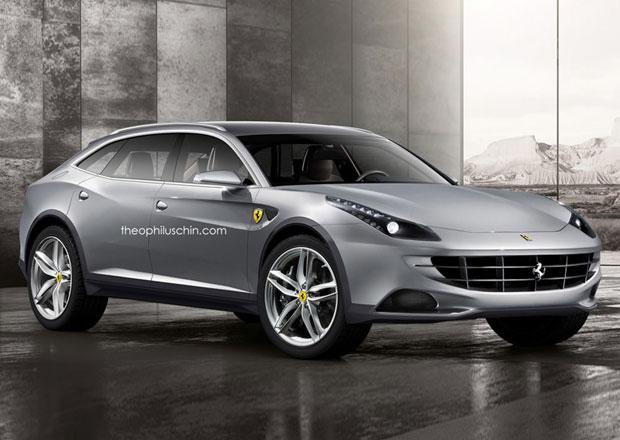 Ferrari FX: Koncept prvního crossoveru z Maranella očima grafika