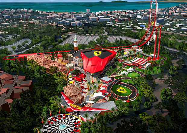 Ferrari zahájilo výstavbu zábavního parku ve Španělsku (+video)