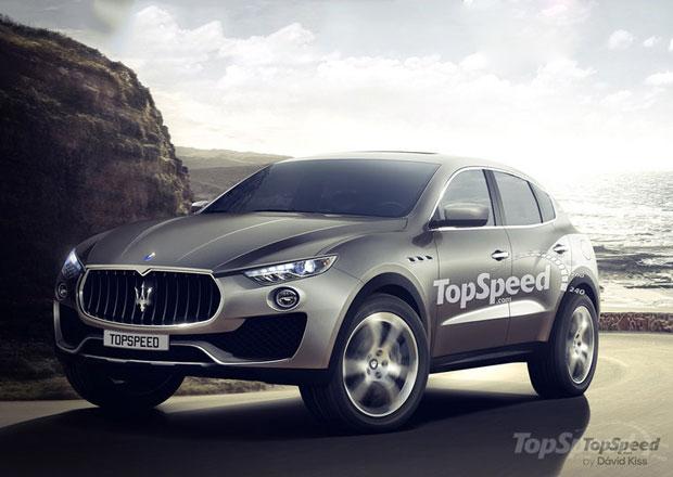 Maserati Levante: Bude prvn� SUV zna�ky vypadat takto?