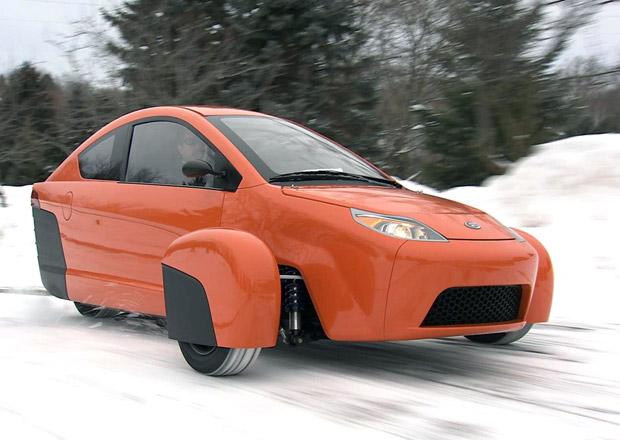 Elio P5: Tříkolový prototyp dostane nový motor a převodovku, ukáže se příští rok