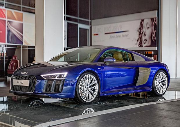 Audi R8 V10 Exclusive ukazuje mo�nosti v�bavy n�meck�ho supersportu