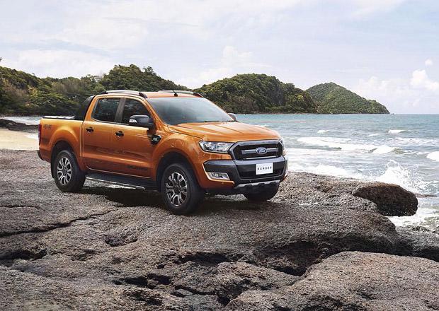 Nový Ford Ranger se představuje v módní verzi Wildtrak
