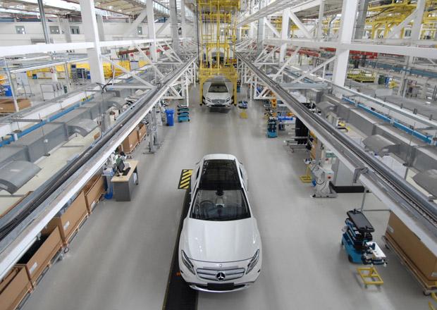 Mercedes-Benz GLA se začal montovat v Indii