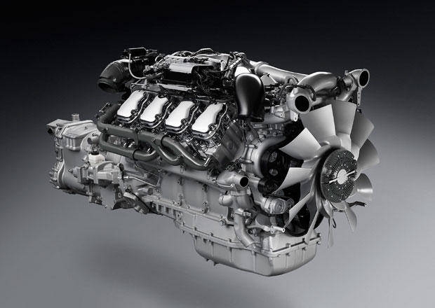 Scania a motory V8