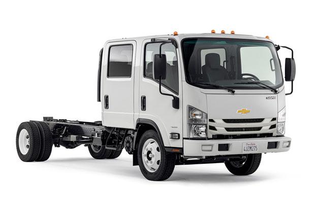 Chevrolet pod svou značkou nabídne Isuzu řady N