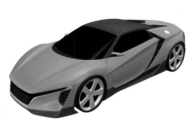 Nástupce Hondy S2000 na patentových obrázcích