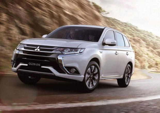 Mitsubishi Outlander PHEV dostalo facelift, vypadá dynamičtěji