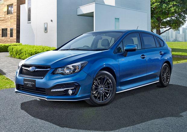 Subaru p�edstavuje Imprezu Sport Hybrid, zat�m jen pro Japonsko