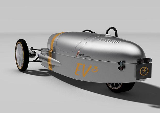 Morgan EV3: Elektrické retro se třemi koly