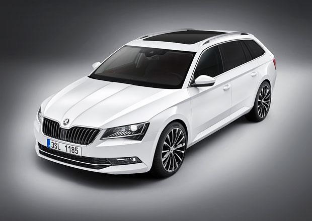 Škoda Superb Combi od 629.900 Kč, výbava se shoduje s liftbackem