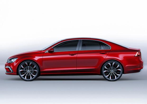 Příští Volkswagen Jetta bude vycházet ze studie New Midsize Coupe