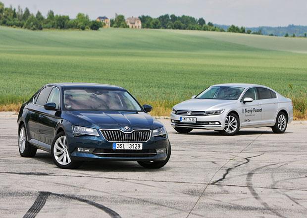Škoda Superb 2.0 TDI vs. Volkswagen Passat 2.0 TDI: Kdo s koho?