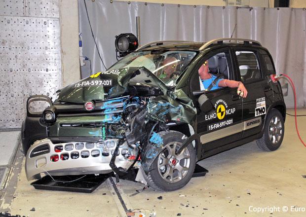 Euro NCAP 2015: Fiat Panda Cross – Tři hvězdy pro terénního medvídka