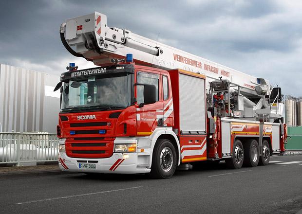 Scania představuje hasičská vozidla