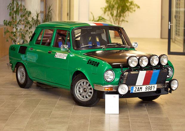 Na Rallye Monte Carlo historiků odstartuje iŠkoda 110L Rallye sčeskou posádkou