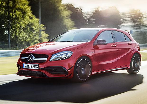 Mercedes-Benz A: Osvěžený vzhled s výkonnějšími a úspornějšími motory