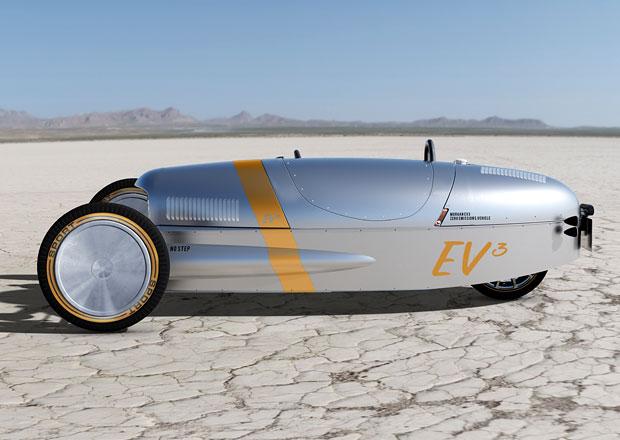 Elektrický Morgan EV3 zamíří příští rok do prodeje