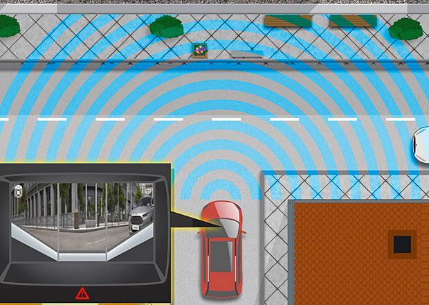 Ford představuje novou bezpečnostní technologii, vidí za roh
