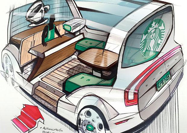 Pojízdná autonomní kavárna či prodejna zmrzliny? Možná budoucnost