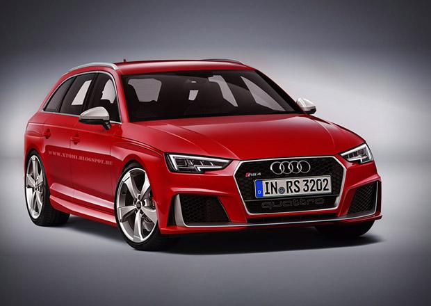 Audi RS4 Avant B9: Bude vypadat takto?