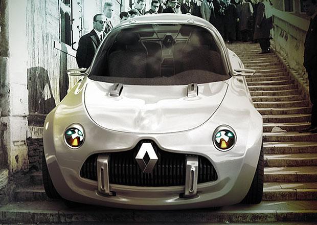 Renault ReFour: Vize stylového francouzského minivozu