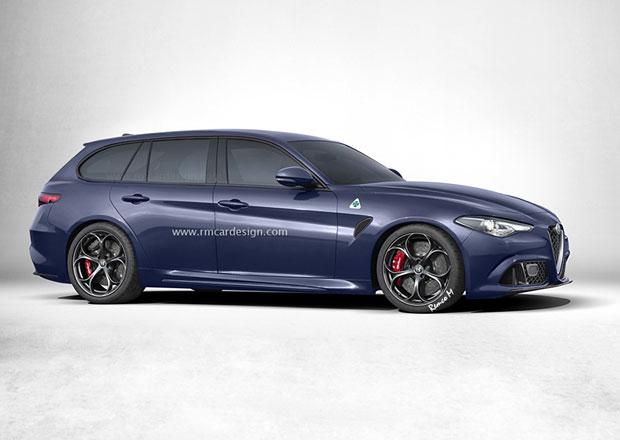 Alfa Romeo Giulia: Kombi nebude. Může za to stelvio?