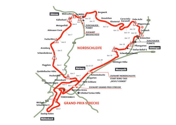 Průzkum o bezpečnosti Nürburgringu: Zvětšit bariéry, upravit trať či omezit výkon vozů?