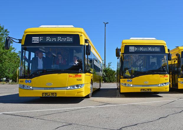 Berlín testuje elektrobusy značky Solaris