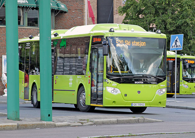 Autobusy Scania CNG m��� do Norska