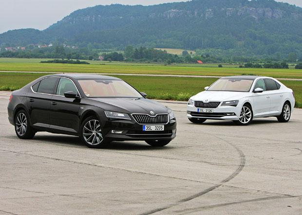 Nejslabší vs. nejsilnější Škoda Superb: 1.6 TDI (88kW) vs. 2.0 TSI (206 kW)