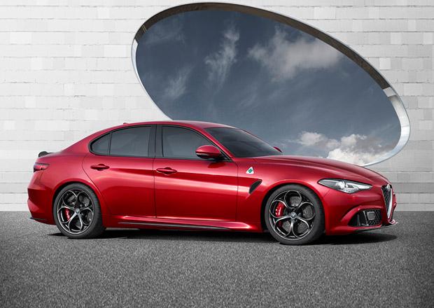 Alfa Romeo Giulia prý v rámci testování pokořila rychlost 320 km/h