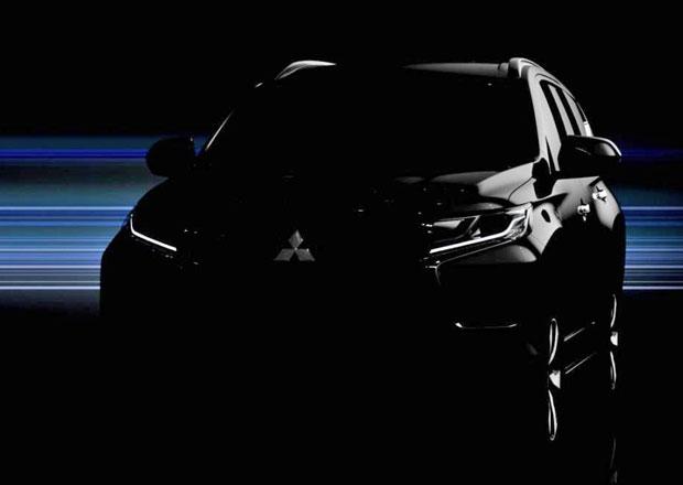 Mitsubishi Pajero Sport na první fotografii, představí se 1. srpna