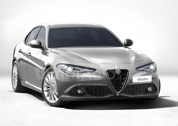Alfa Romeo Giulia ve standardní verzi: Bude vypadat takto?