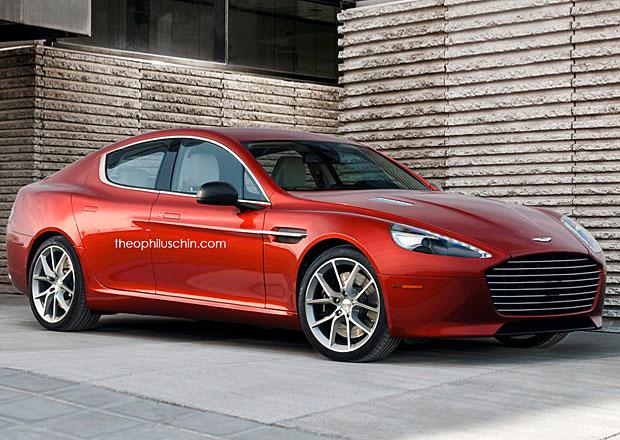Vize sportovního sedanu střední třídy od Aston Martinu
