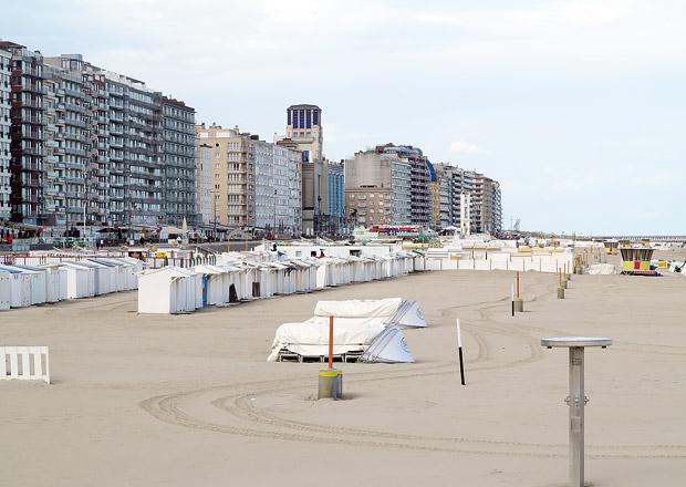Belgie: Pláže a moře pro otužilce