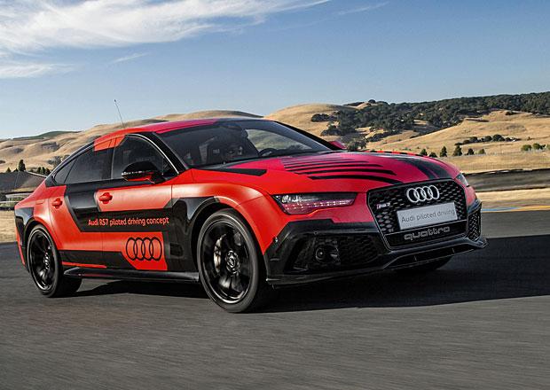 Audi RS 7 Piloted Driving Concept: Autonomní Sportback shodil 400 kg