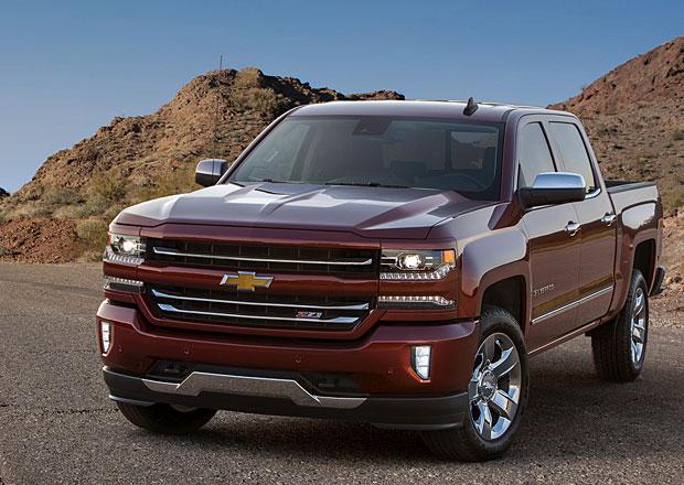 Chevrolet Silverado 2016 dostane dramatick� v�raz