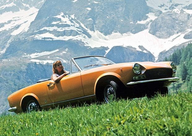 Fiat 124 Spider by mohl dostat motor z Alfy 4C