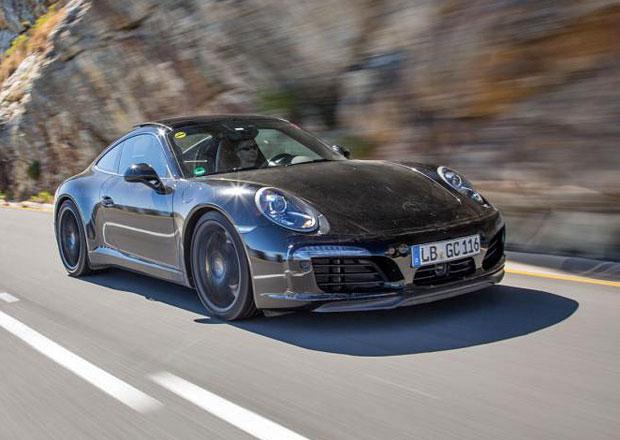 Porsche 911 facelift: Fotografie z testov�n� prototyp� (+video)