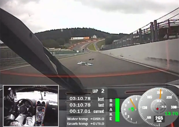 Video: Koenigsegg One:1 řádí ve Spa-Francorchamps