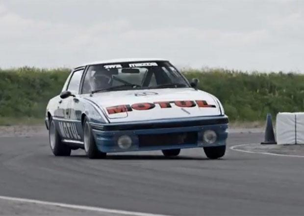 Mazda RX-7: Vítěz 24 hodin Spa 1981 (video)
