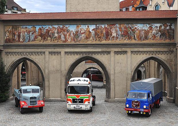 MAN p�ipom�n� 60 let v�roby v Mnichov�