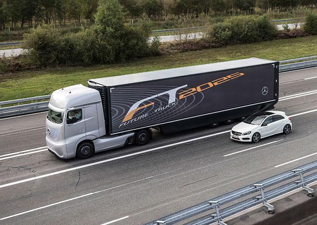 Daimler bude v Německu testovat kamiony s autonomním řízením