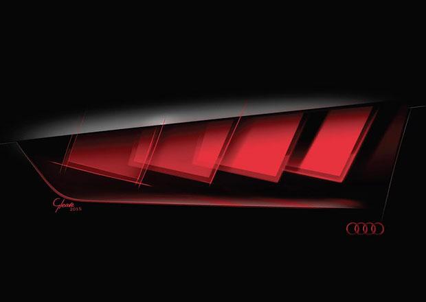 Audi ve Frankfurtu představí zadní svítilny s technologií Matrix OLED