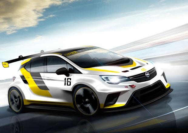 Nový Opel Astra zamíří na závodní okruhy