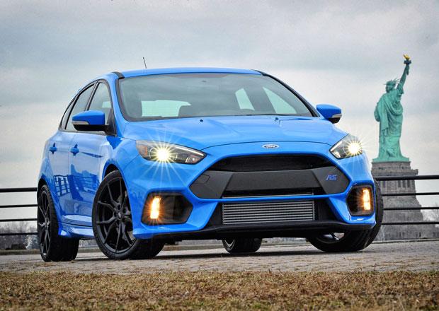 Ford omylem zveřejnil ceny Focusu RS v USA, začínají na 882.000 Kč